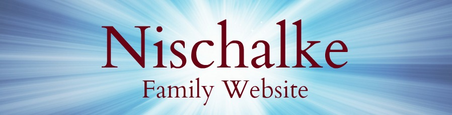 Nischalke Family Website header image